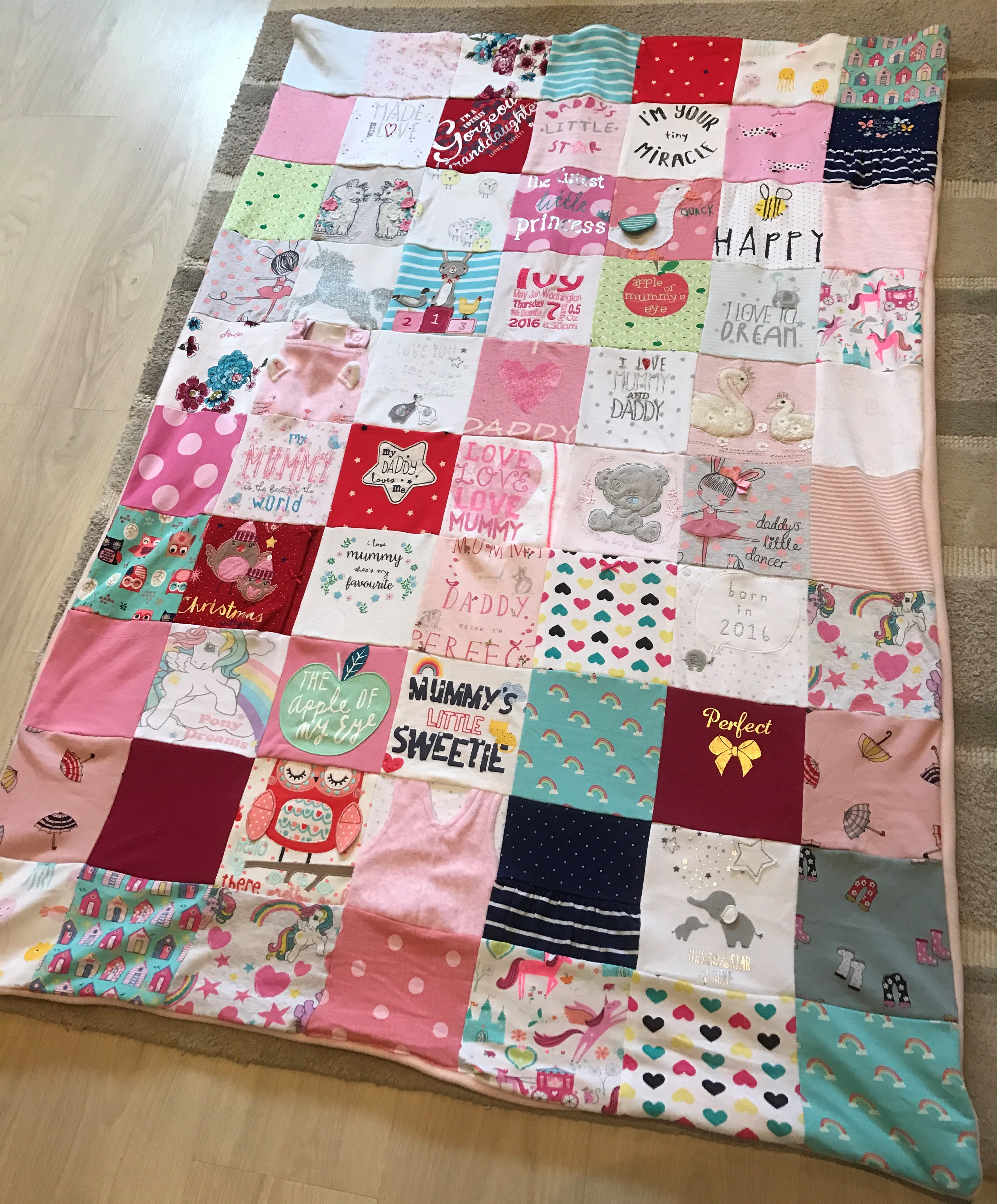 Large Keepsake Blanket Made With Love